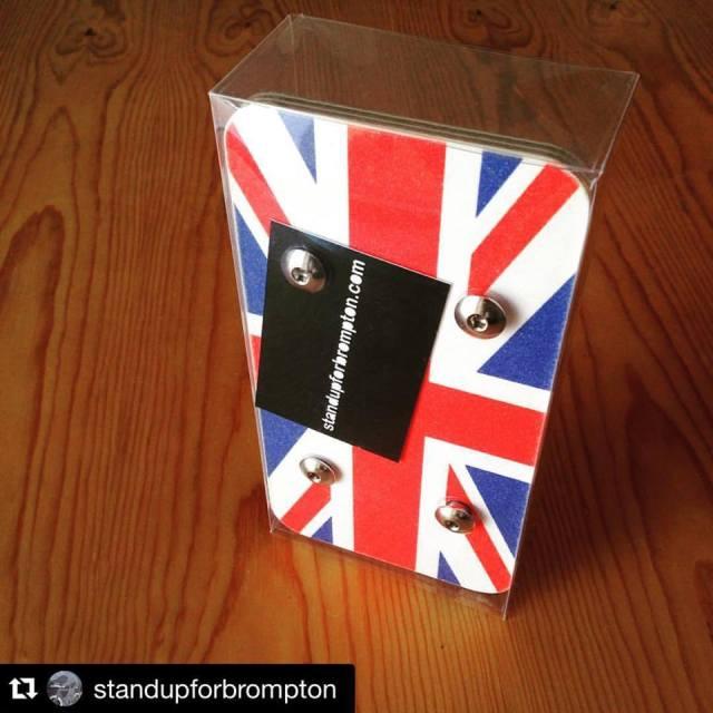 Union Jack platform donated by @standupforbrompton