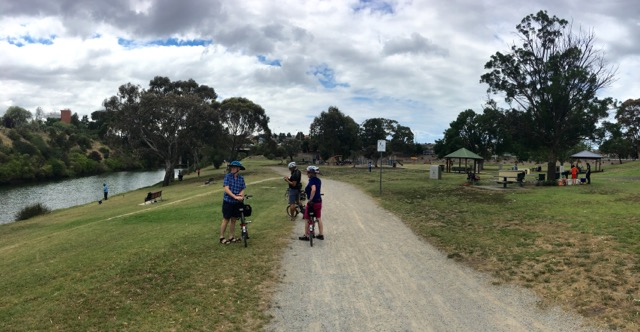 Taking a short stop at Thompson Street Reserve