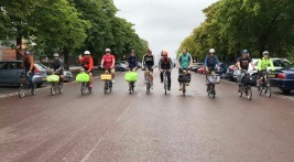 Our group at Greenwich - photo courtesy of Brian Jones